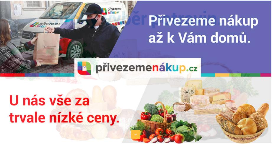 Rozvoz potravin Praha